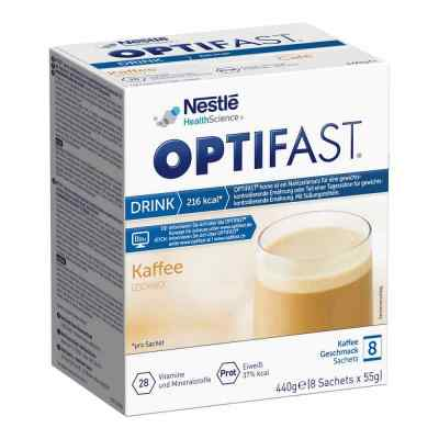 Optifast home Drink Kaffee Pulver von MUCOS Pharma GmbH & Co. KG