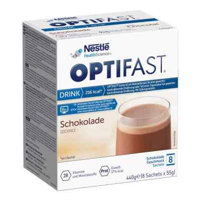 Optifast home Drink Schokolade Pulver von MUCOS Pharma GmbH & Co. KG