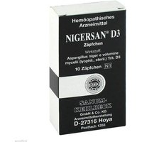 Nigersan D 3 Suppositorien von Nigersan