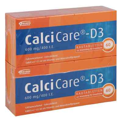 CalciCare-D3 600mg/400 I.E. von Orion Pharma GmbH