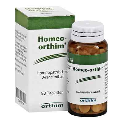 Homeo Orthim Tabletten von Orthim GmbH & Co. KG