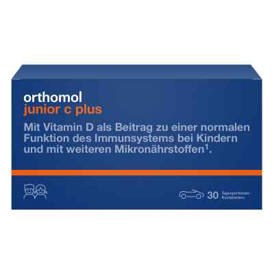 Orthomol Junior C plus Kautablette (n) mandarine/orange von Orthomol pharmazeutische Vertr