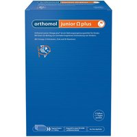 Orthomol junior Omega plus Kaudragees von Orthomol