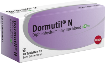 DORMUTIL N Tabletten 20 St