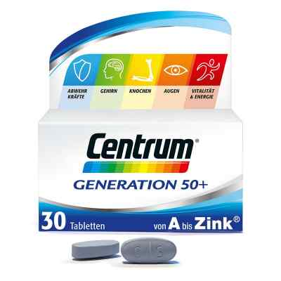 Centrum Generation 50+ Tabletten von Pfizer Consumer Healthcare Gmb