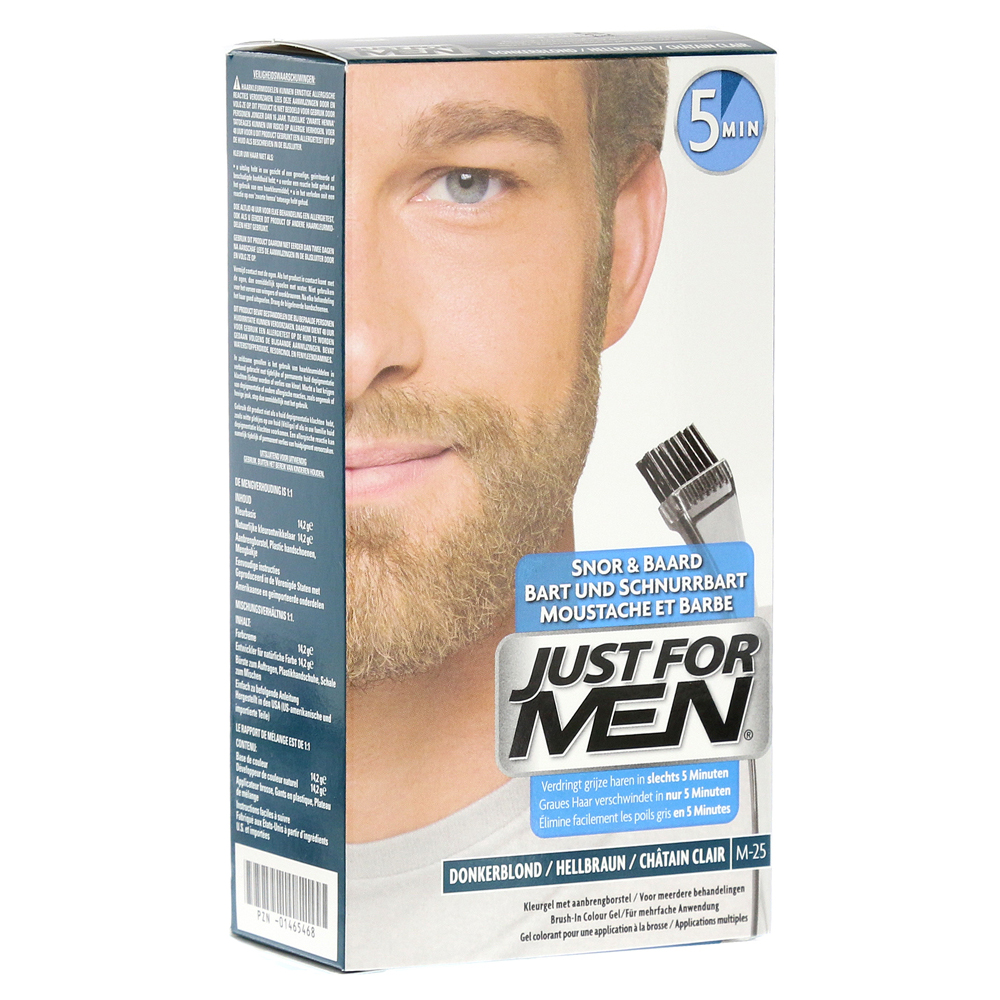 JUST for men Brush in Color Gel hellbraun 28.4 Milliliter von Pharma Netzwerk PNW GmbH
