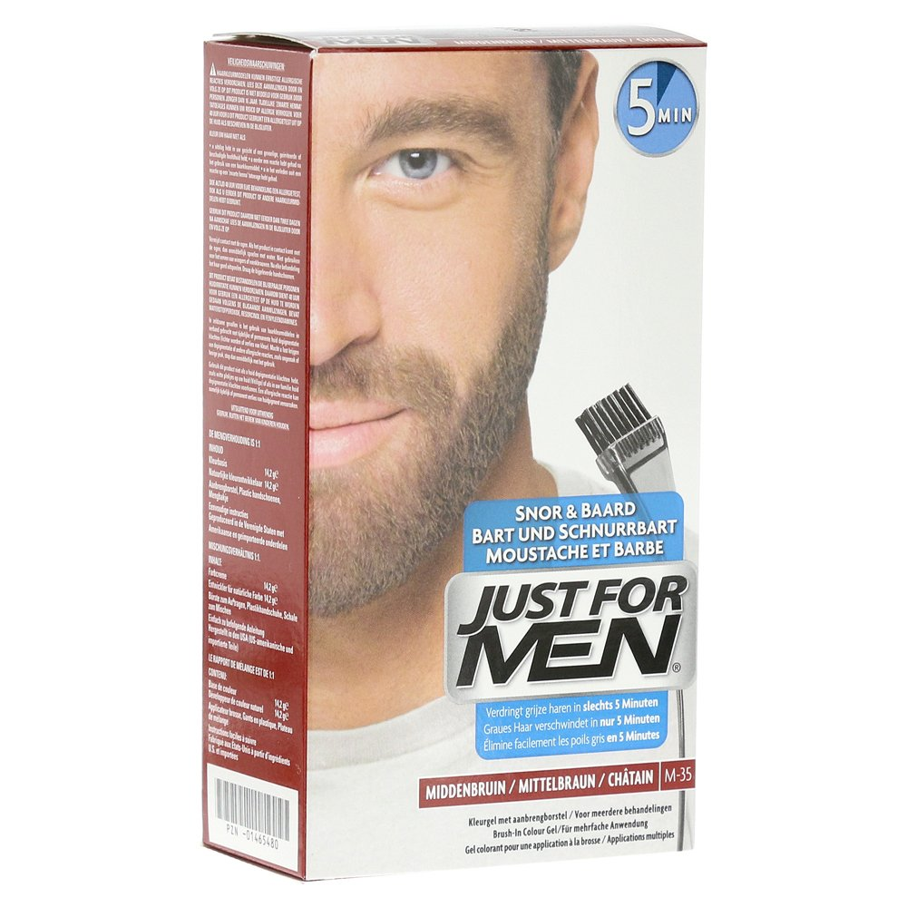 JUST for men Brush in Color Gel mittelbraun 28.4 Milliliter von Pharma Netzwerk PNW GmbH