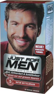 JUST for men Brush in Color Gel mittelbraun 28.4 ml von Pharma Netzwerk PNW GmbH