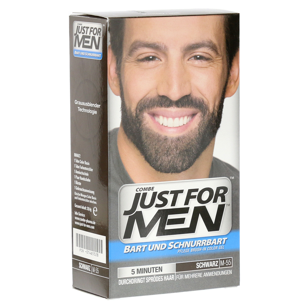 JUST for men Brush in Color Gel schwarz 28.4 Milliliter von Pharma Netzwerk PNW GmbH