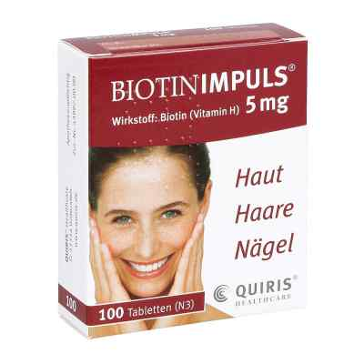 Biotin Impuls 5 mg Tabletten von Quiris Healthcare GmbH & Co. K
