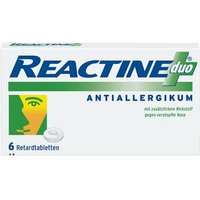 Reactine duo Retardtabletten von Reactine