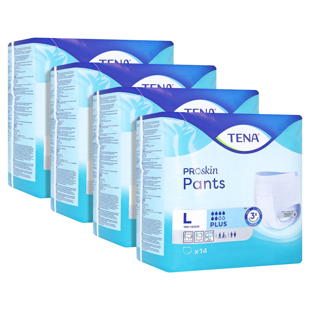 TENA PANTS plus L Einweghose 4x14 Stück von Essity Germany GmbH Health and Medical Solutions