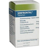 Sinfrontal Tabletten von Sinfrontal