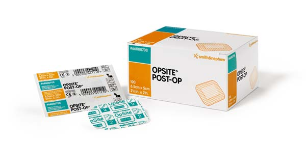 Opsite Post-Op Folienwundverband steril 9,5x8,5cm von Smith & Nephew GmbH