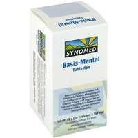 Basis Mental Tabletten von Synomed