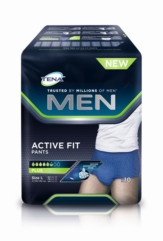 TENA MEN Active Fit Pants Gr. L von Tena