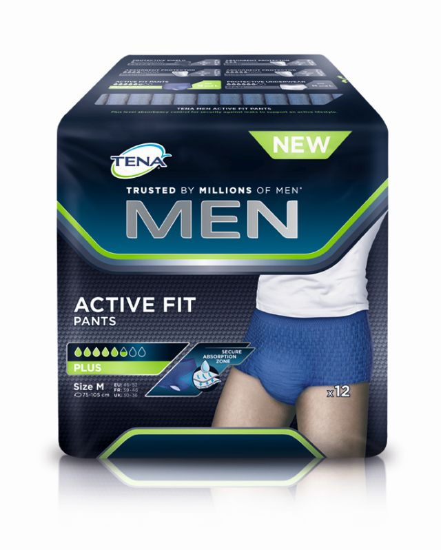 TENA MEN Active Fit Pants Gr. M von Tena