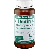 Vitamin C 1000 mg retard Langzeit Tabletten von The Nutri Store