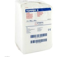 Topper 8 Kompresse unsteril 10x10 cm von Topper