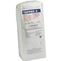 Topper 8 Kompresse unsteril 5x5 cm von Topper