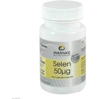 Selen 50 µg Tabletten von Warnke