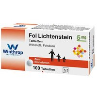 Fol Lichtenstein 5 mg Tabletten von Winthrop