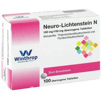 Neuro Lichtenstein N Dragees von Winthrop