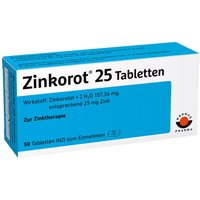 Zinkorot® 25 Tabletten von Wörwag Pharma GmbH & Co. KG