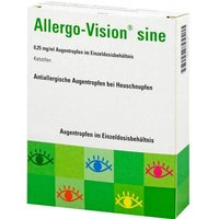 Allergo-Vision sine 0,25 mg / ml AT im Einzeldo.beh.