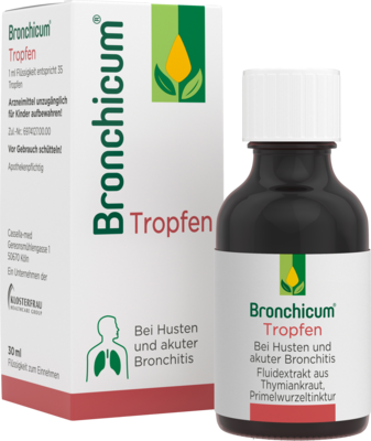 BRONCHICUM Tropfen 30 ml