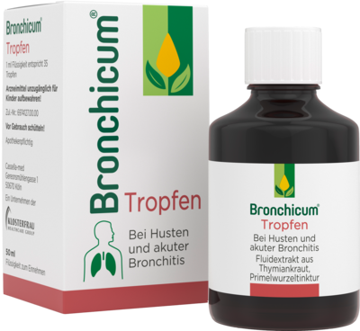 BRONCHICUM Tropfen 50 ml