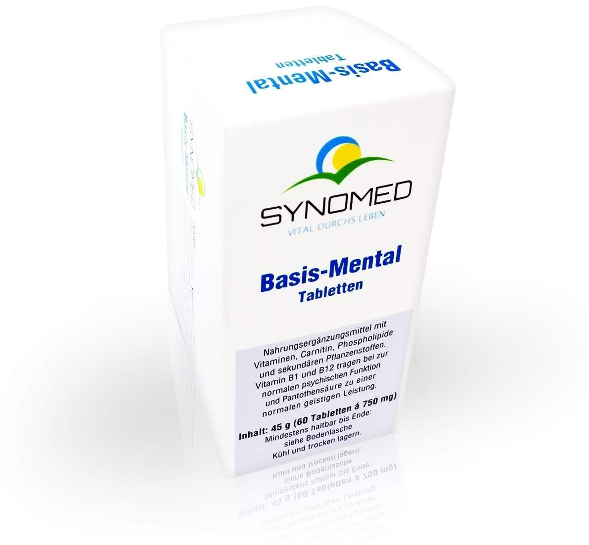 Basis Mental 60 Tabletten von Synomed GmbH