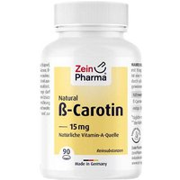 Beta Carotin Natural 15 mg Zeinpharma Weichkapseln