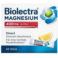 Biolectra Magnesium 400 mg ultra Direct Zitrone