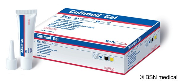 Cutimed Gel steriles Hydrogel Tube mit Applikatoren 8g von BSN medical GmbH