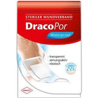 Dracopor waterproof Wundverband 8x15 cm steril