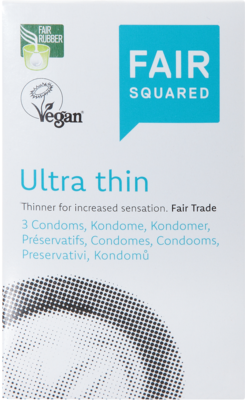 FAIR SQUARED Kondome ultra thin 3 St