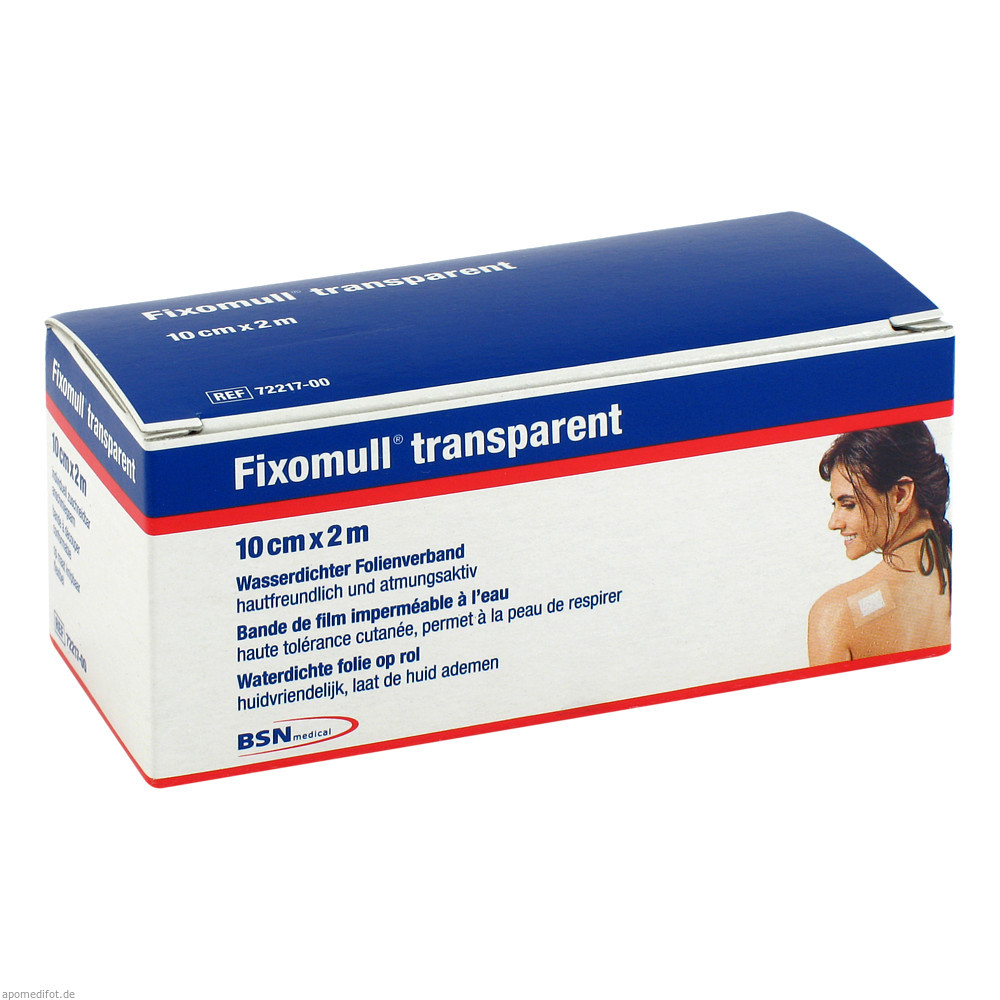 Fixomull transparent 2 m x 10 cm von BSN medical GmbH