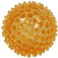Igelball 6cm orange transpar