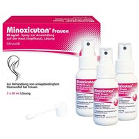 Minoxicutan Frauen 20 mg / ml Spray