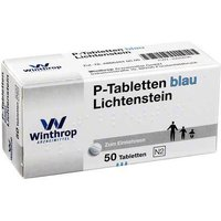 P Tabletten blau 8 mm Teilk.