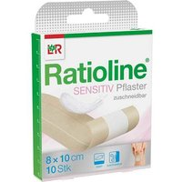 Ratioline sensitive Wundschnellverband 8 cm x 1 m