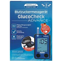 Testamed Glucocheck Advance Starter-Kit mg / dl mmol / l