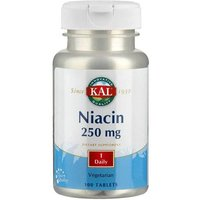 Vitamin B3 Niacin 250 mg Tabletten