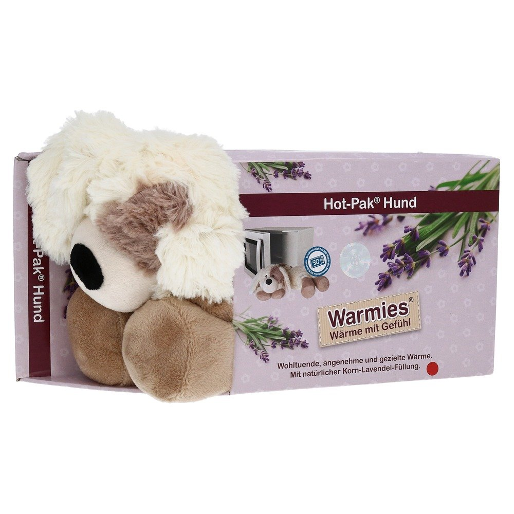 Warmies Hot Pak Hund beige 1 St von Greenlife Value GmbH
