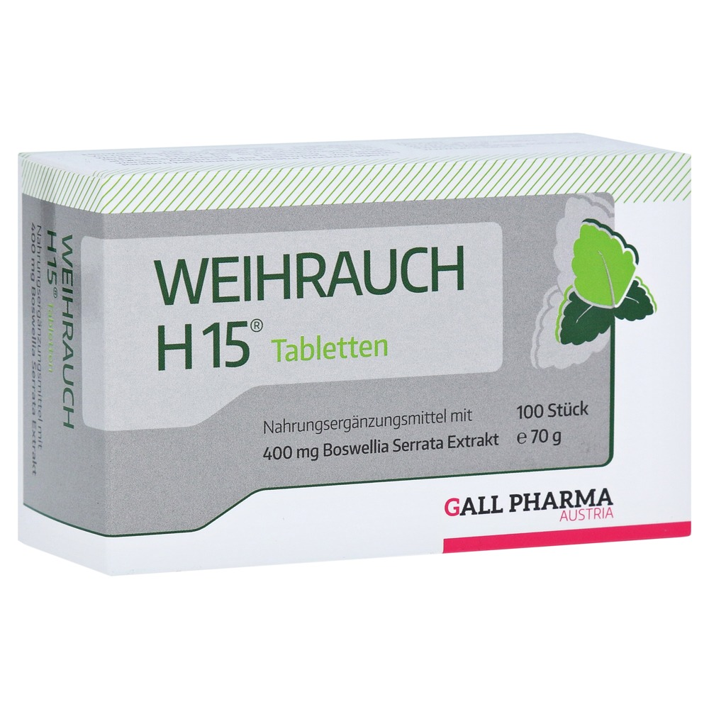 Weihrauch H15 Tabletten 100 St von Bios Medical Services