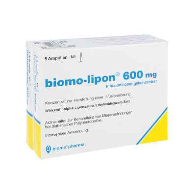 Biomo Lipon 600 mg Ampullen von biomo pharma GmbH