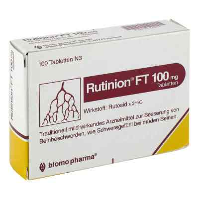 Rutinion FT 100mg von biomo pharma GmbH
