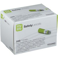 mylife SafetyLancets Comfort Sicherheitsnadeln 28G 1,5 mm von mylife
