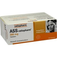 ASS-ratiopharm 300 mg Tabletten von ratiopharm GmbH